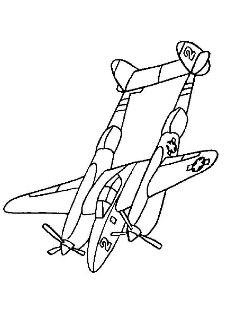 Coloring Pages For Planes : Airplanes coloring pages download and print