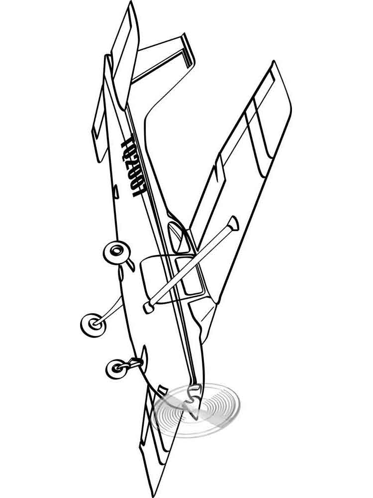 Airplanes coloring pages Download
