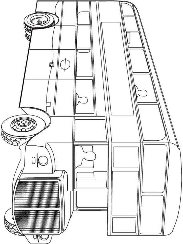 Buses coloring pages Download and print buses coloring pages