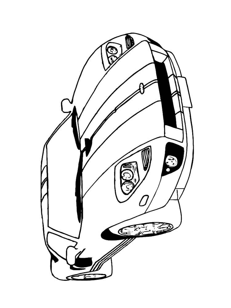 Ferrari Coloring Pages Free Printable Ferrari Coloring Pages