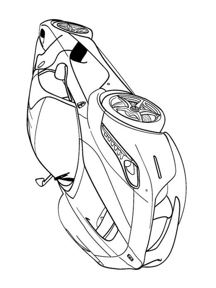 Ferrari coloring pages. Free Printable Ferrari coloring pages.