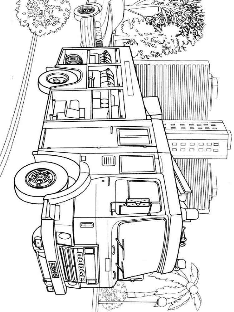 Fire truck coloring pages Download and print fire truck coloring