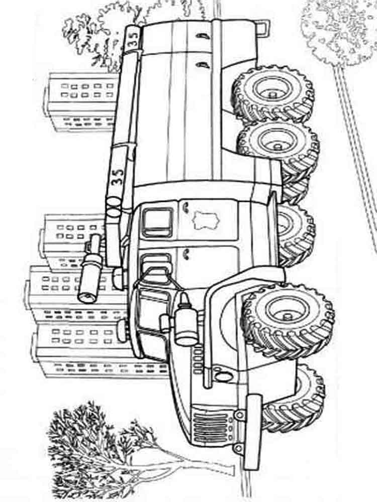 Fire truck coloring pages Download