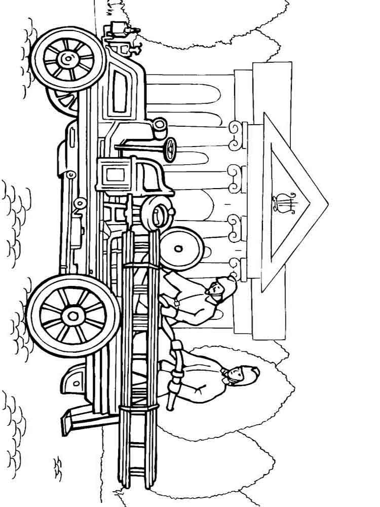 Fire truck coloring pages download and print fire truck for Fire coloring page