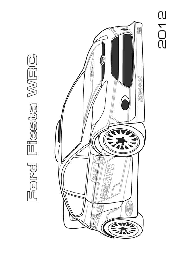 Ford coloring pages. Free Printable Ford coloring pages.