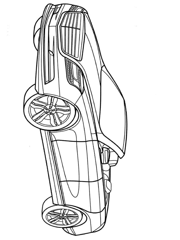 Mercedes coloring pages Free Printable