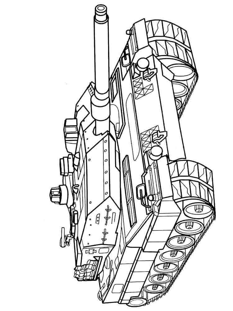 Army Tanks coloring pages. Download and print Army Tanks ...