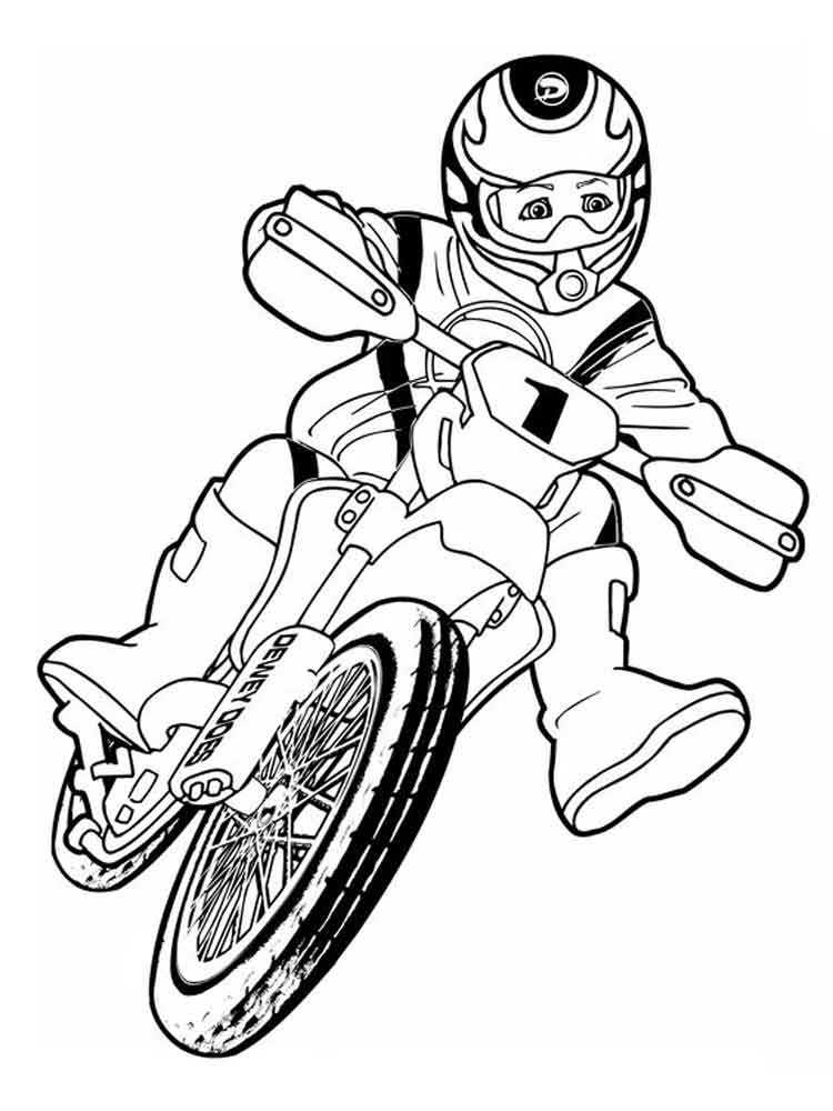 motocross coloring pages  free printable motocross