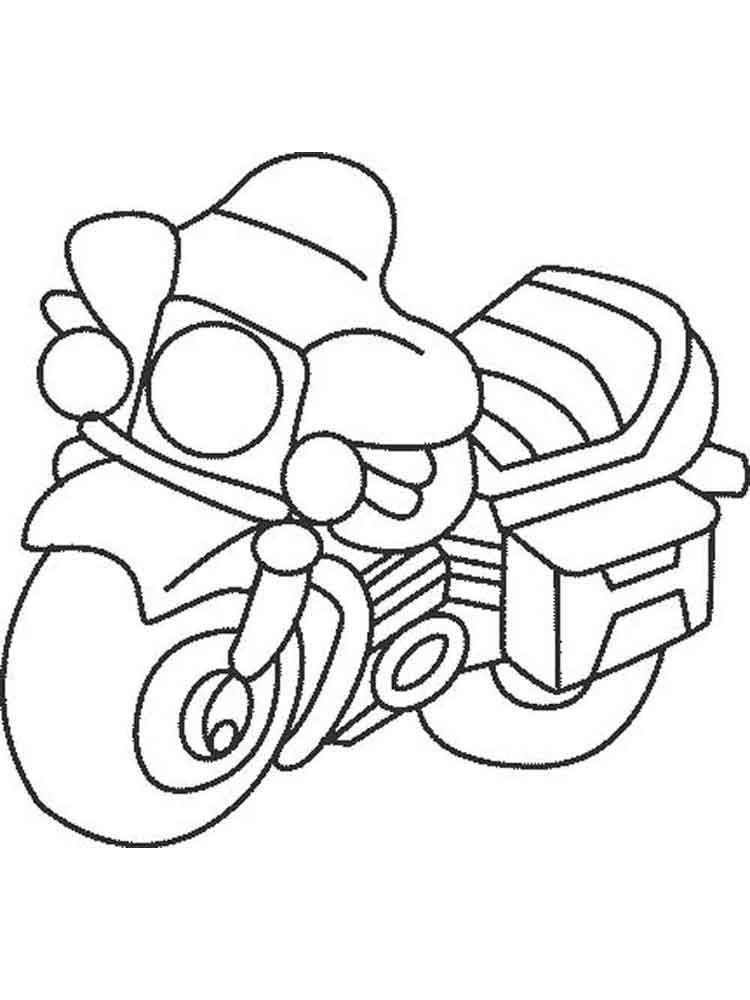 advanced motorcycle coloring pages - photo#40