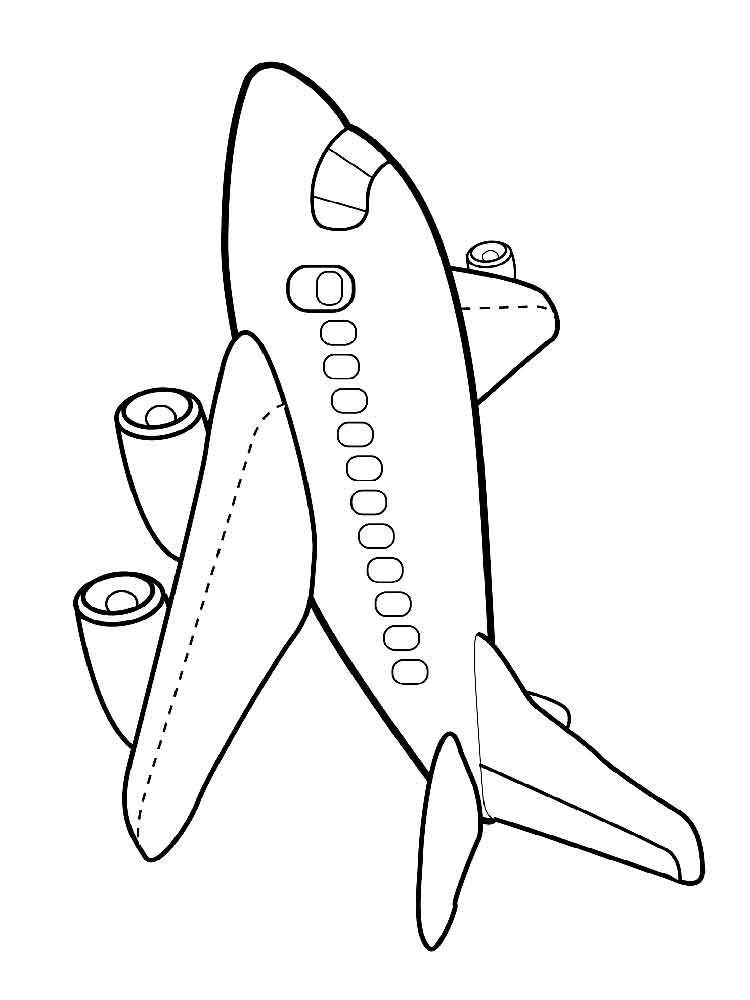 Airplane coloring pages printable for Airplane coloring page printable