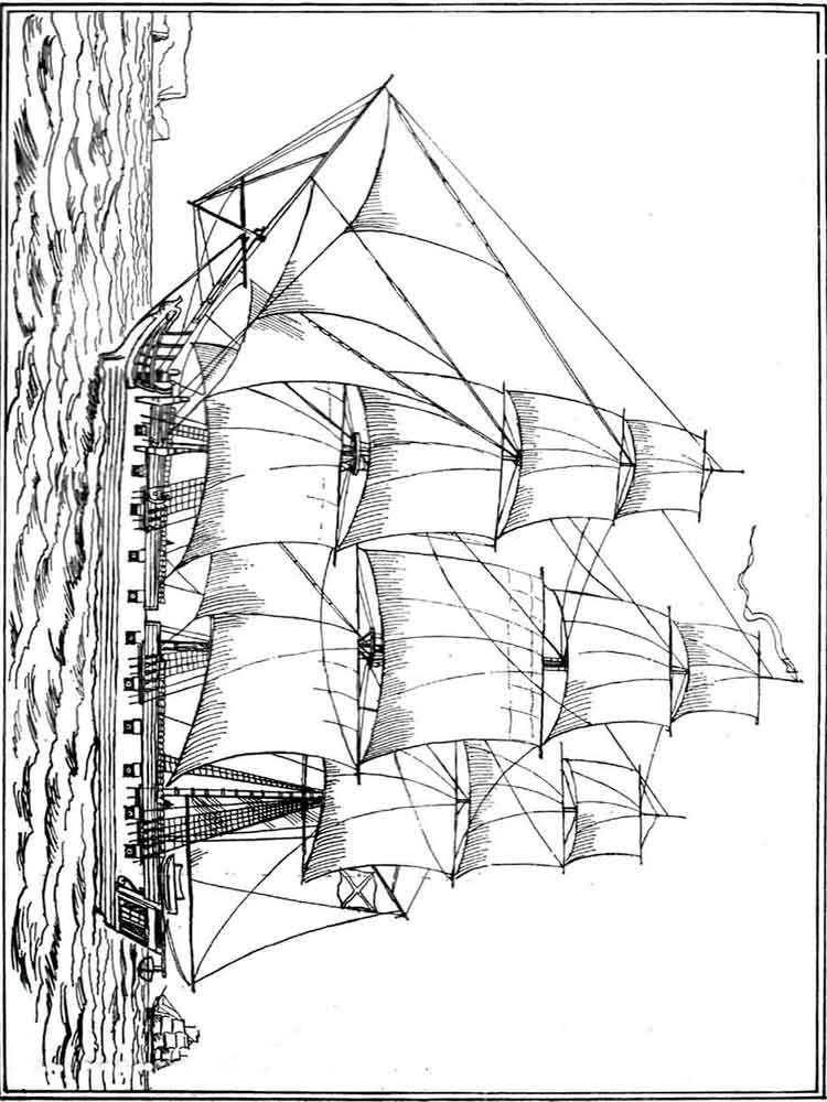 Boats And Ships Coloring Pages Download And Print Boats