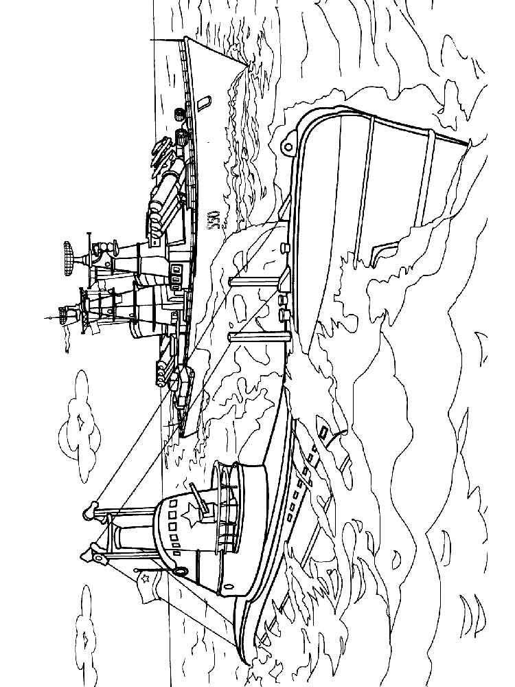 Submarine Coloring Pages Free Printable Submarine