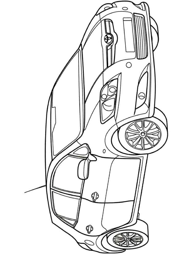 Toyota Coloring Pages Free Printable Toyota Coloring Pages