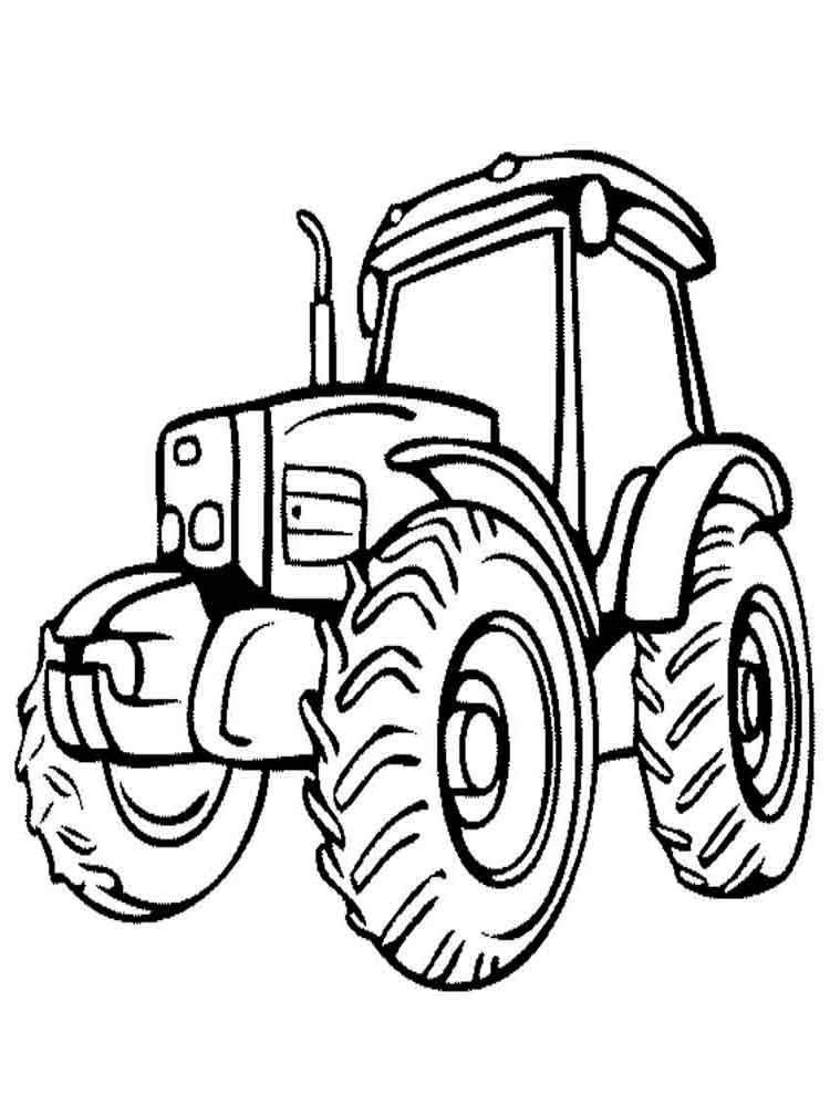 Tractor Coloring Pages Download And Print Tractor
