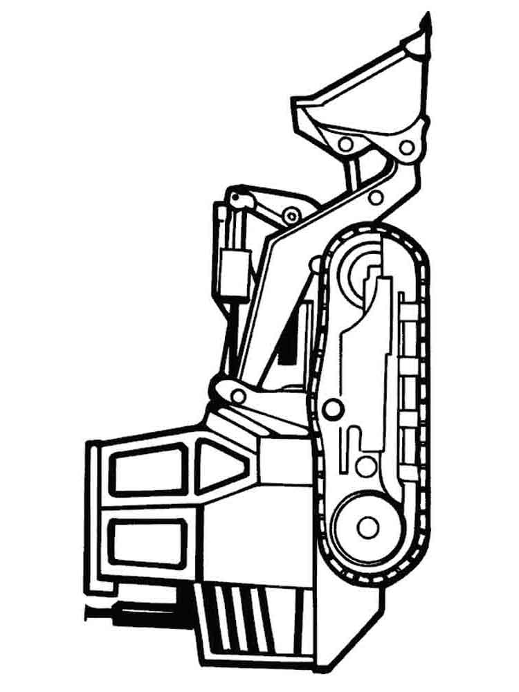 Tractor coloring pages. Download and print Tractor ...