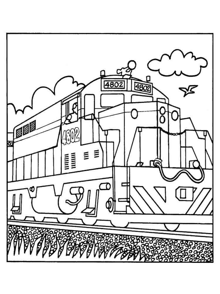 Transportation coloring pages trains ~ Train coloring pages. Download and print train coloring pages