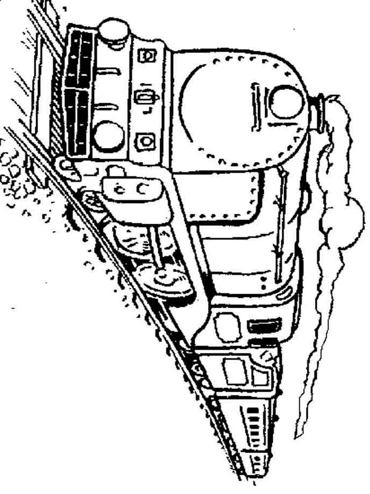 Train Coloring Pages Download And Print Train Coloring Pages