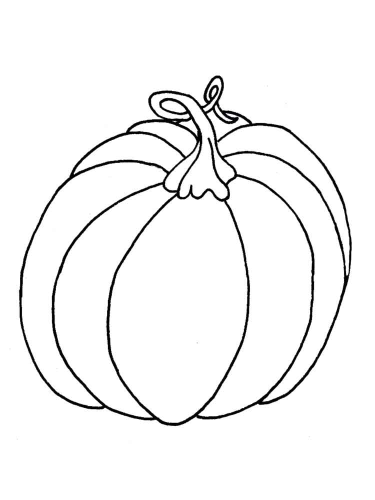 Pumpkin Coloring Pages Download And Print Pumpkin
