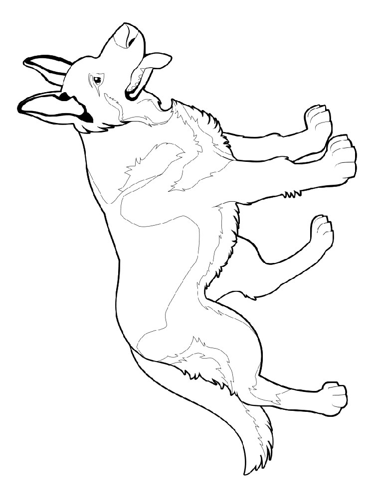 Free German Shepherd coloring pages. Download and print ...