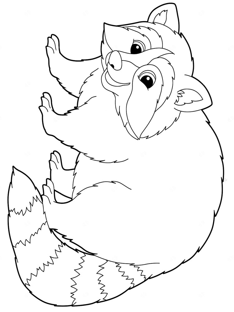 Coloring Pages Animals Baby Tigers