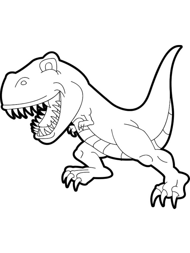 - Free TRex Coloring Pages. Download And Print TRex Coloring Pages