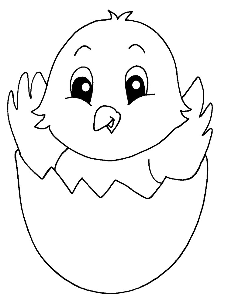 Baby Chick coloring pages Download and print Baby Chick coloring