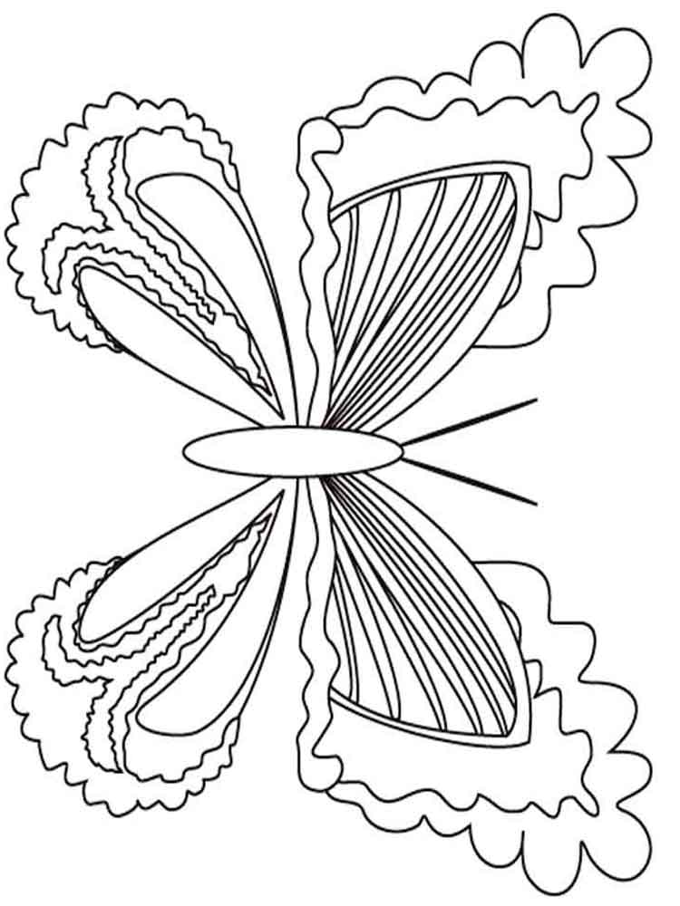 Butterfly Coloring Pages Download And Print Butterfly