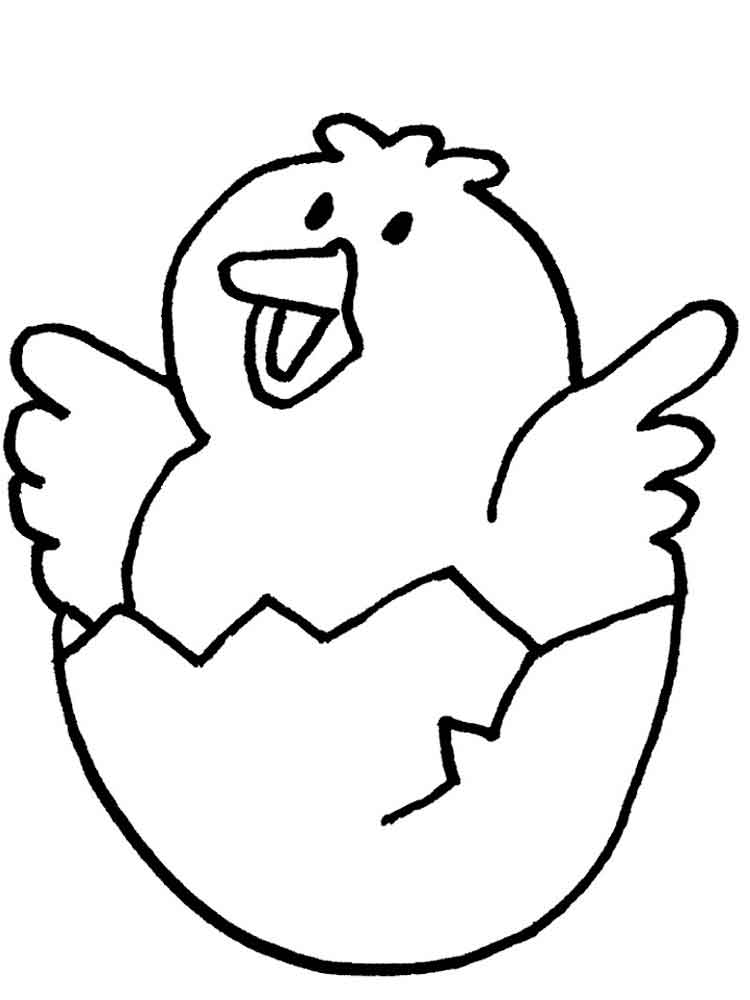 Chicken coloring pages Download and print Chicken coloring pages