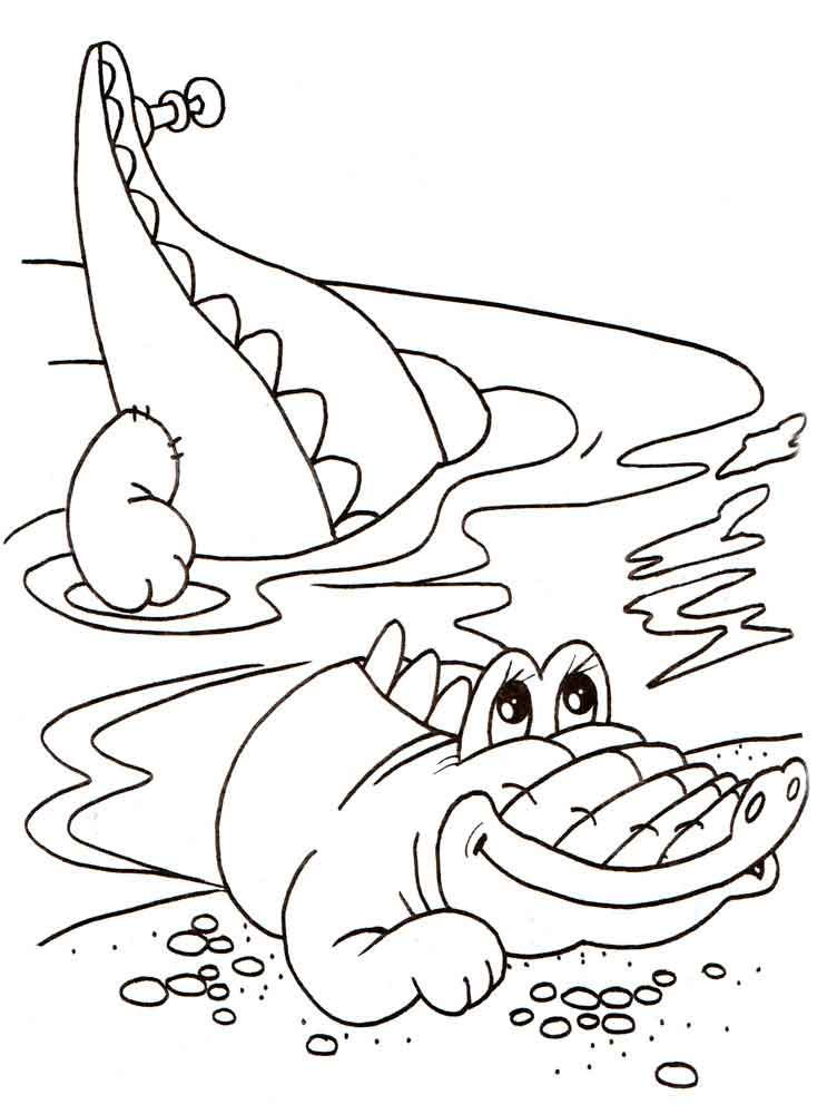 printable crocodile coloring pages 23509 coloringpagefree com