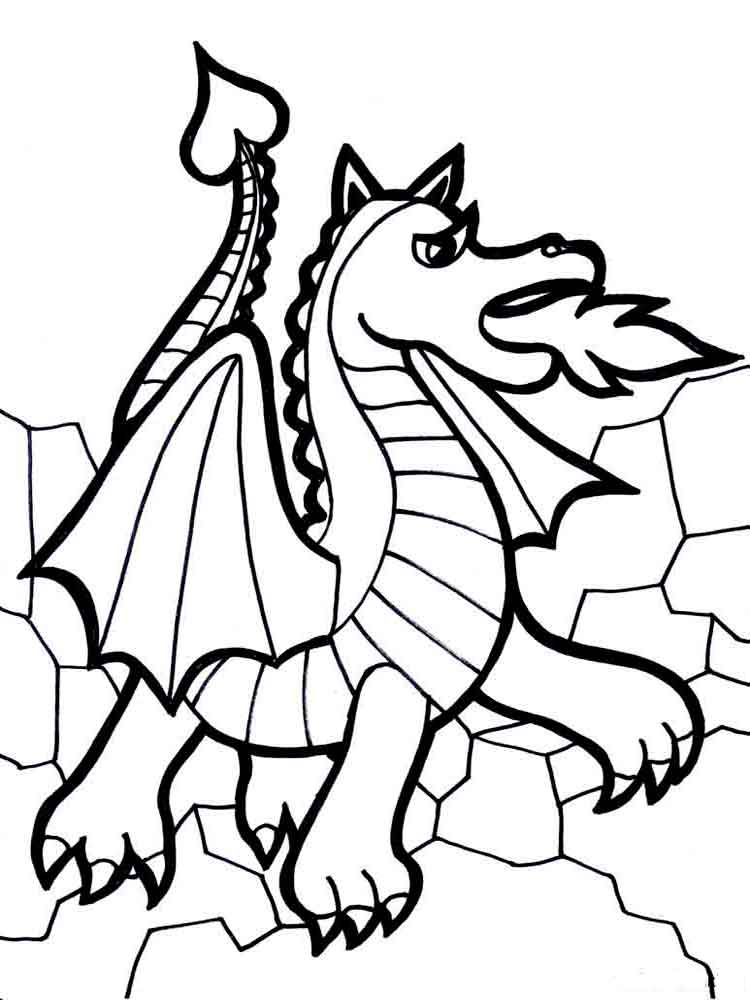 ... Coloring Pages Animals Dragon 10 ...