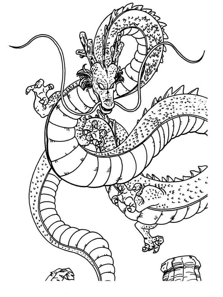 Dragons coloring pages download and print dragons for Coloring page dragon