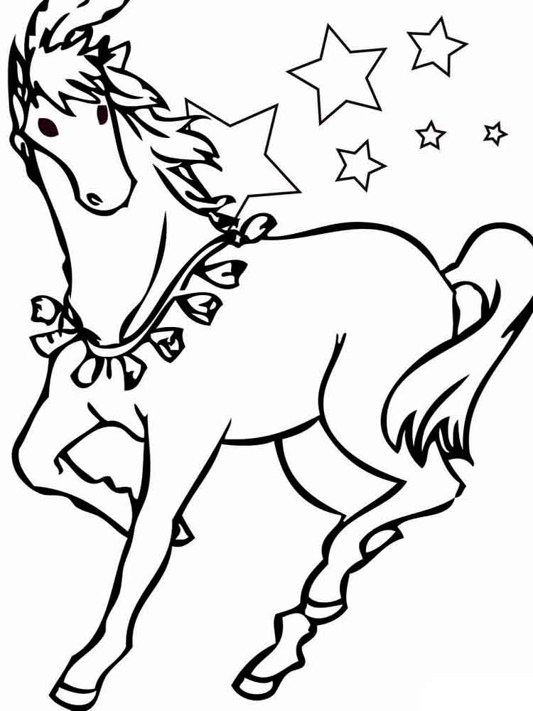 coloring pages animals horse 22
