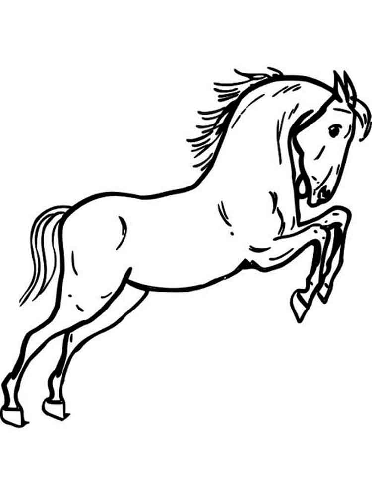 Coloring Pages Animals Horses : Horses coloring pages download and print