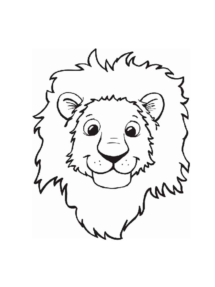 Lion coloring pages Download and