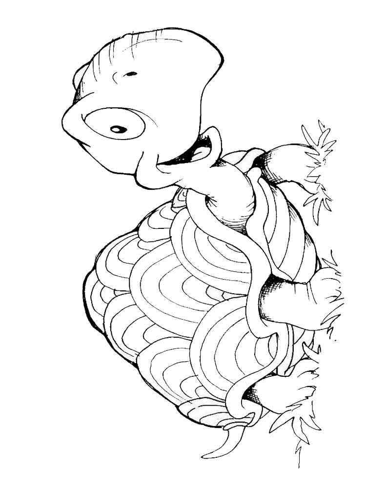 Turtles coloring pages. Download and print turtles ...