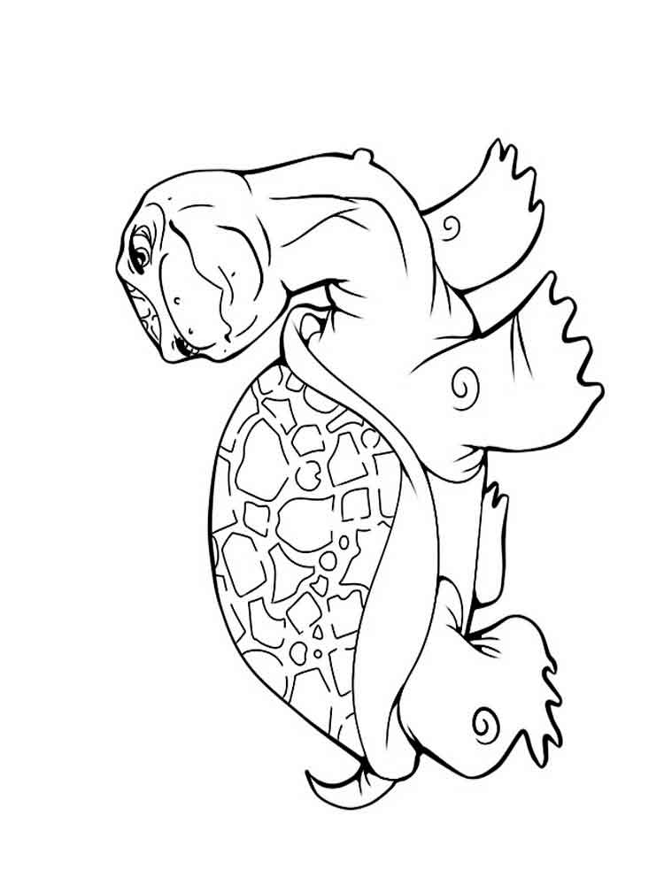 Turtles coloring pages Download