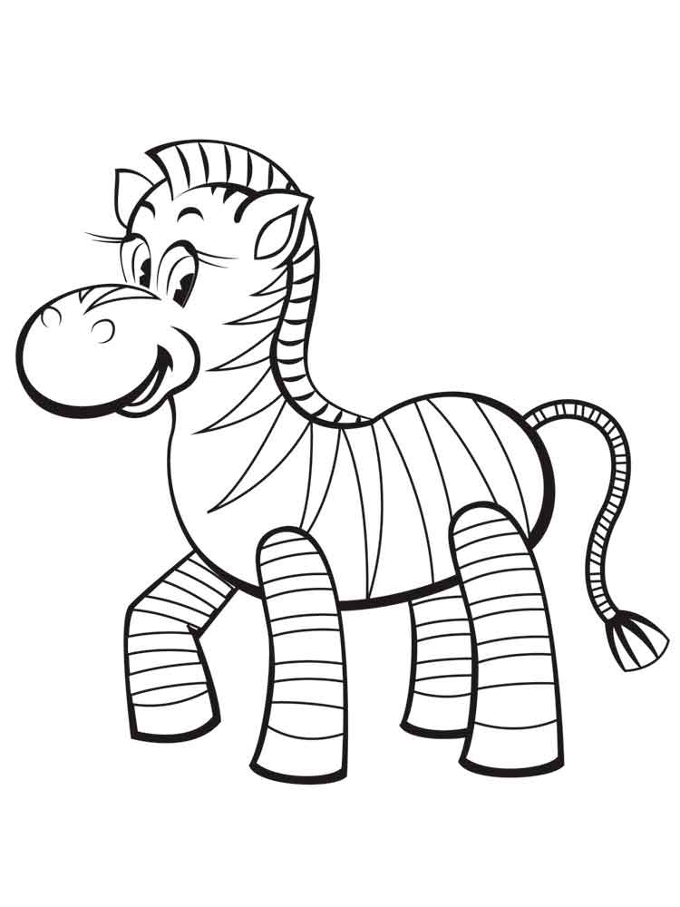 Zebra coloring pages download and print zebra coloring pages for Zebra color page