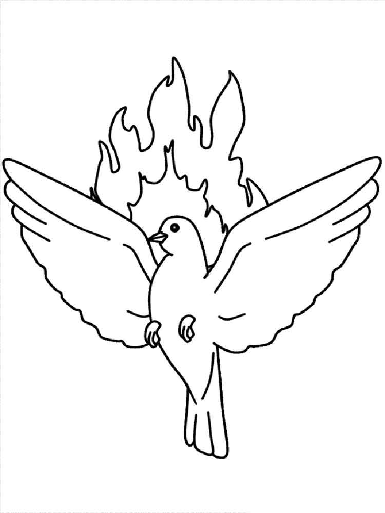 Dove coloring pages. Download and print Dove coloring pages