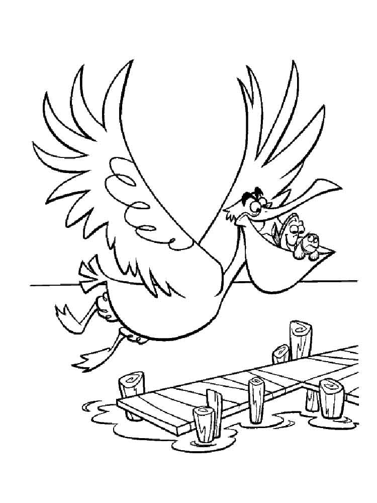 Pelican coloring pages Download