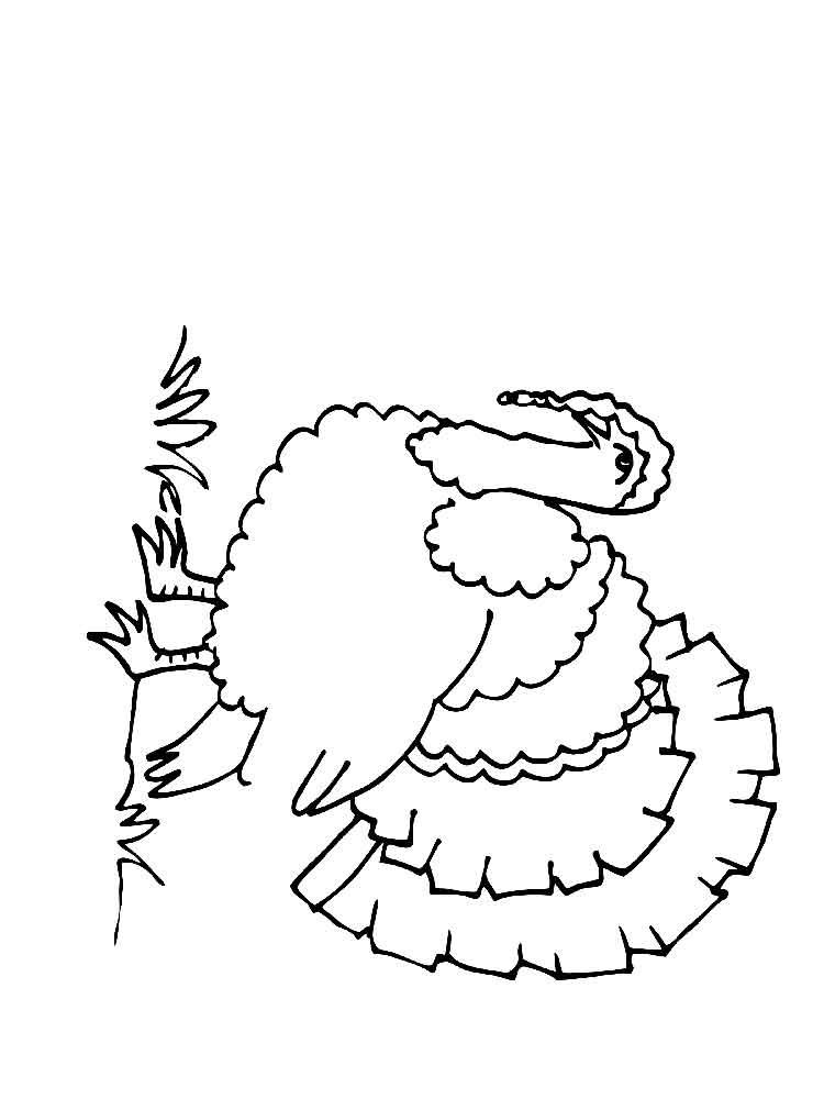 Turkeys coloring pages Download