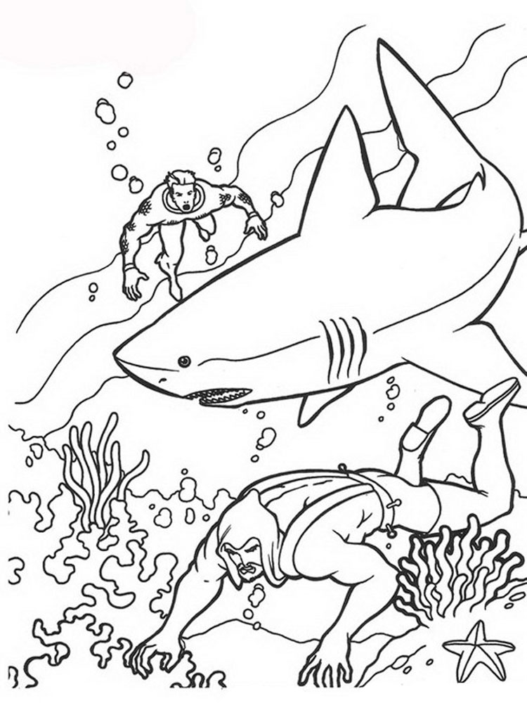 Aquaman coloring pages Download and print Aquaman coloring pages