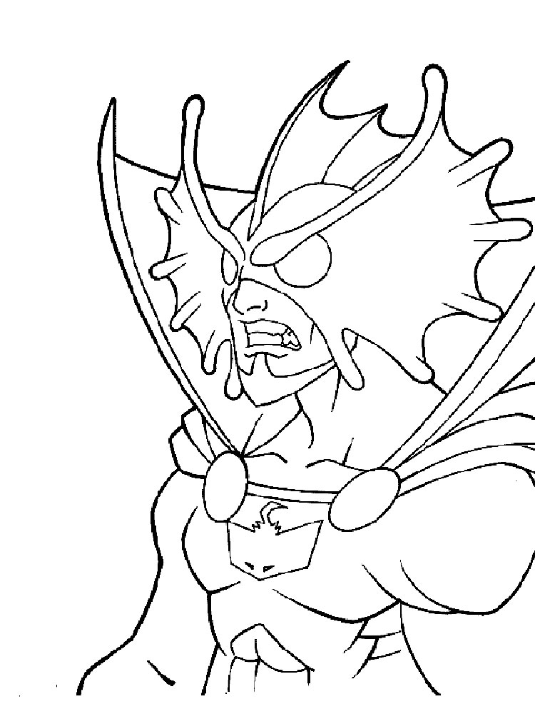 Aquaman coloring pages Download