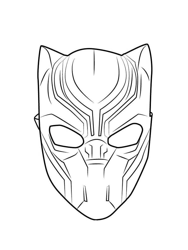 Free Black Panther Coloring Pages Download And Print