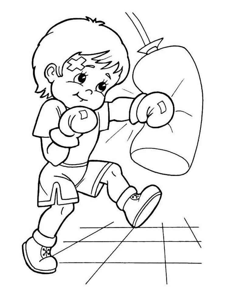 Sports Coloring Pages - MomJunction | 1000x750