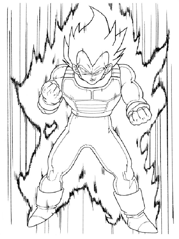 - Dragon Ball Z Coloring Pages. Download And Print Dragon Ball Z Coloring  Pages
