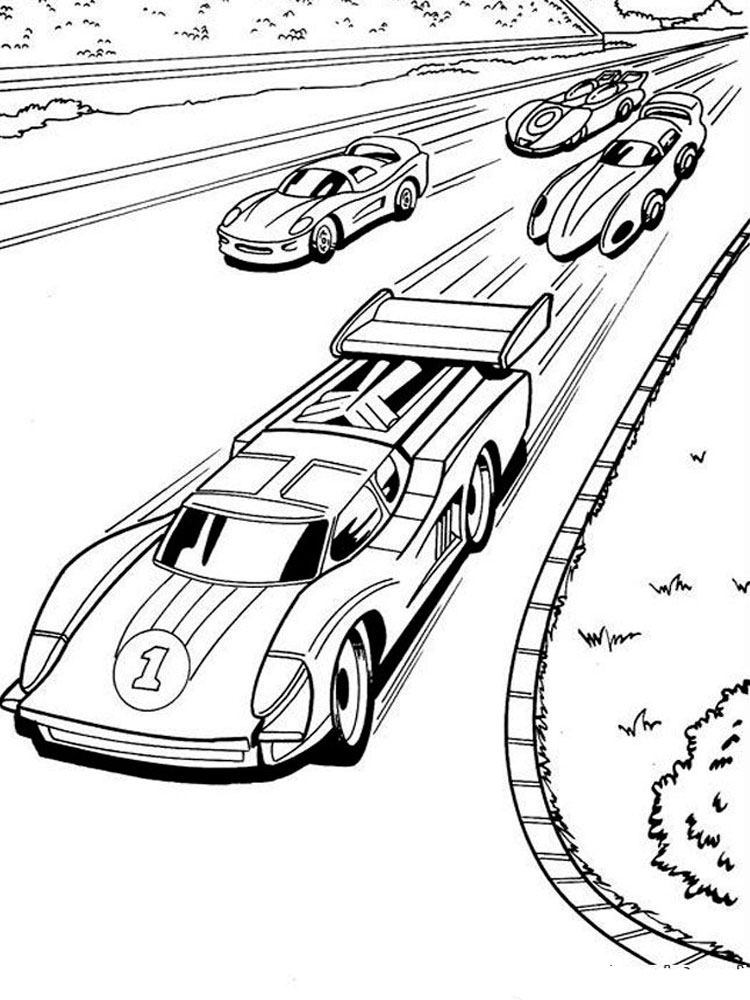 Hot Wheels coloring pages Download