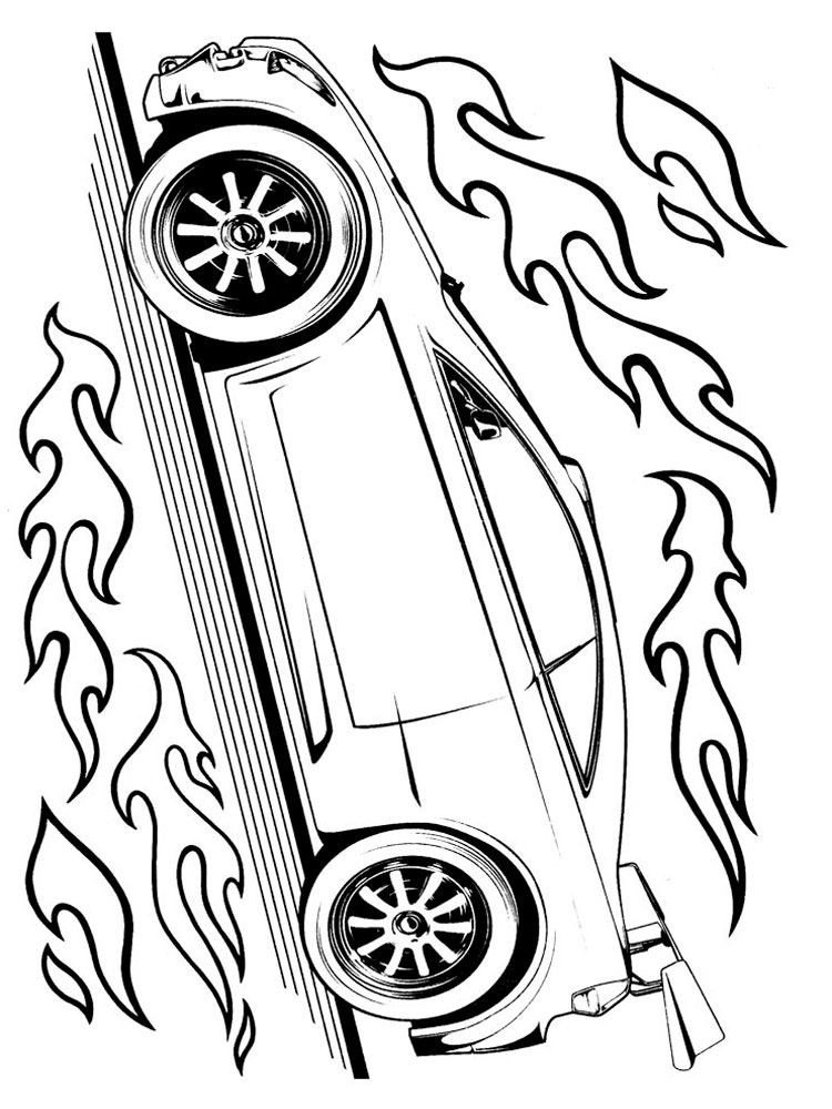 Hot Wheels Coloring Pages Download And Print Hot Wheels