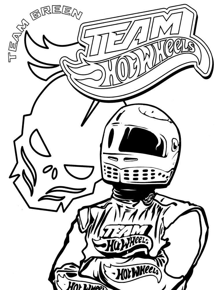 Hot Wheels coloring pages. Download and print Hot Wheels ...