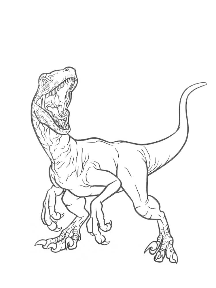 Free Jurassic World coloring pages. Download and print ...