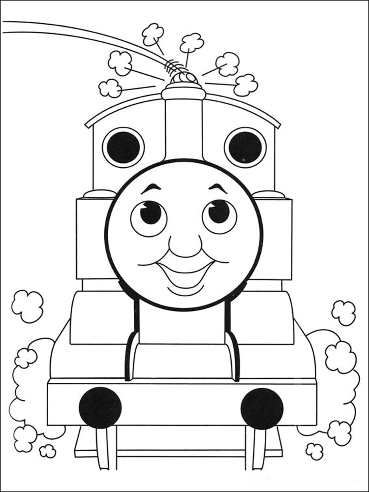 Thomas And Friends Coloring Pages Download And Print